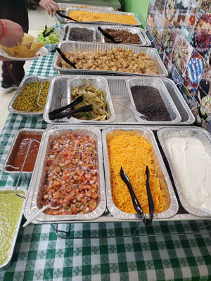 Catered Taco Bar