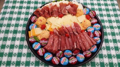 Cheese Meat Platter