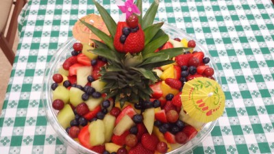 Umbrella Fruit Bowl